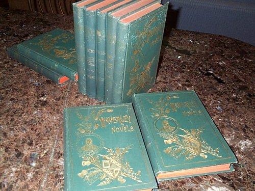 Waverley Novels Collier Waverley Novels Volumes