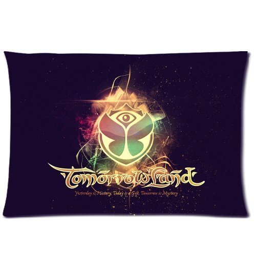 Custom Tomorrowland Music Festival Pillowcase 20x26 two sides Zippered Rectangle PillowCases Throw Pillow Covers