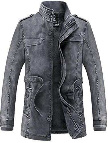 vogstyle-uomo-giacca-attillata-basic-biker-in-pelle-con-collo-alto-stile-1-grigio-xl