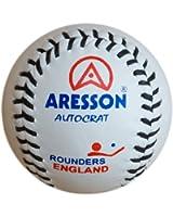Aresson Autocrat Rounders Ball - White, 19.5cm