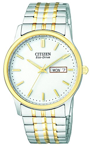 Citizen Men's BM8454-93A Eco-Drive Flexible Band Two-Tone Watch