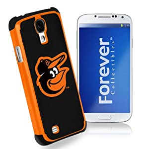 Forever Collectibles Baltimore Orioles Rugged Dual Hybrid Samsung Galaxy S4 Case