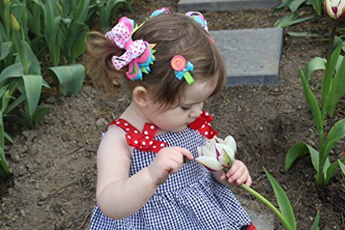 Baby Girls Hair Accessories -3-In-1 Bow - STRAWBERRY- 355026