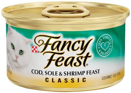 Fancy Feast Classic Cod, Sole & Shrimp Feast