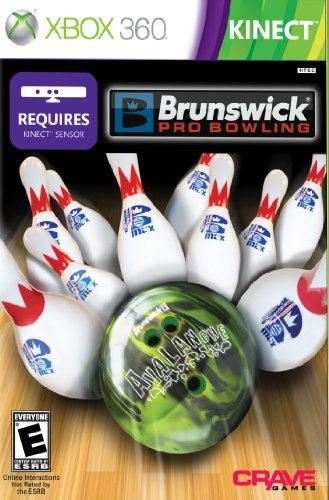 Brunswick Pro Bowling – Used w/ Kinect only