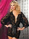 Seven 'til Midnight - Paisley Pleasure Lace Robe