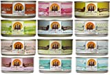 Weruva Variety Pack Grain-Free Canned Cat Food (Pack of 12, 3 ounce cans)