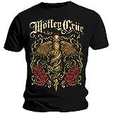 Official T Shirt MOTLEY CRUE Black EXQUISITE DAGGER Vintage All sizes