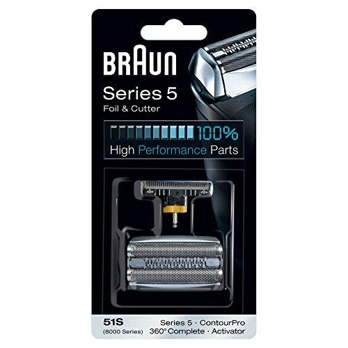 Braun Combi-pack 51S Lamina e Blocco Coltelli Testina di Ricambio per i Rasoi Braun della Series 5