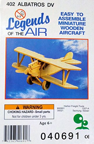 Miniature Wooden Aircraft 402 Albatros DV