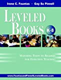 img - for The Fountas & Pinnell Leveled Book List, K-8+: 2010-2012 Edition, Print Version book / textbook / text book