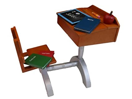 School Style Desk 1930 Style School Wood Desk