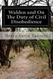 Image of Walden and On The Duty of Civil Disobedience