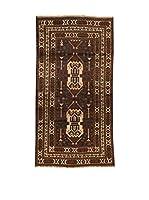 Kilim Carpets by Jalal Alfombra Afg Bel Zakini (Marrón/Beige)
