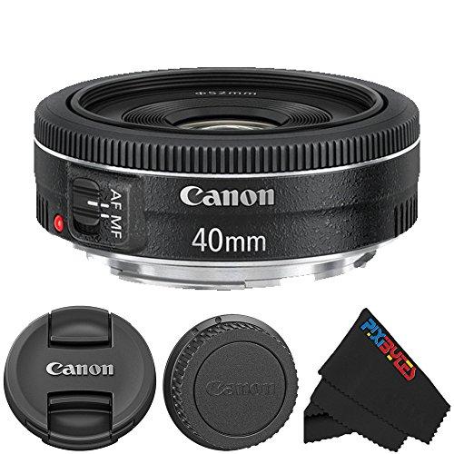Canon-EF-40mm-f28-STM-Lens-Pixi-Starter-Accessory-Lens-Kits