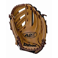 Wilson A2K 1955 Single Post Web Glove (12.5-Inch, Left Hand Throw) by Wilson