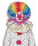 Forum Novelties Men's Jumbo Afro Rainbow Clown Costume Wig