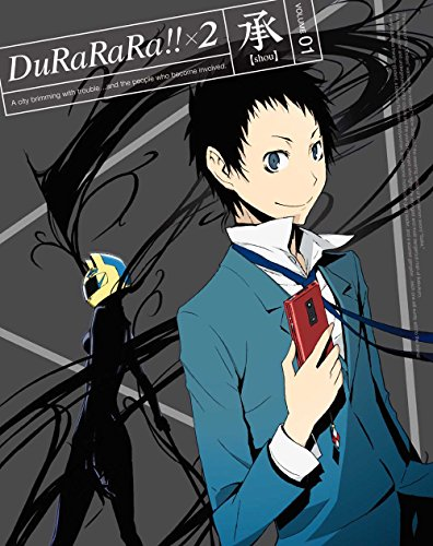 【Amazon.co.jp限定】デュラララ!!×2 承 1【完全生産限定版】(クリアブックマーカー付) [Blu-ray]