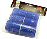 Hair Tools Large Blue 40mm Snooze Rollers. Velcro Rollers You Can Sleep In x 6