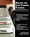 img - for Meeting and Event Planning Playbook: Meeting Planning Fundamentals book / textbook / text book