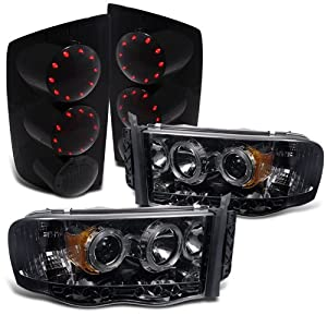 Amazon  Rxmotoring    2004       Dodge       Ram    2500    Headlight    Projector  Led Tail Lights  Automotive