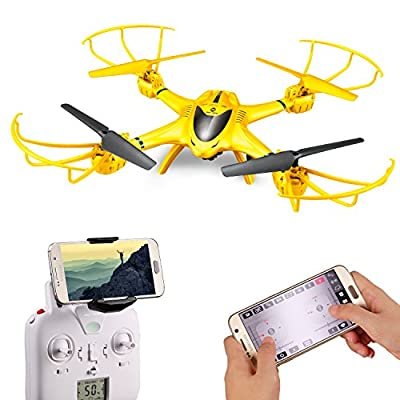 Holy Stone X401H-V2 RC Drone with Camera Live Video Wifi FPV Quadcopter with Altitude Hold, Headless Mode Function and APP Control RTF Helicopter for Beginner and Expert, Compatible with 3D VR Headset by Holy Stone