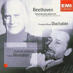 Beethoven: Piano Concertos no 2 & 6 / Menuhin, Duchable, et al