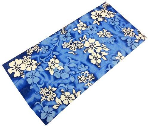 "30x60/"" Flowers Bright Fashion Hibiscus Velour Beach Towel"