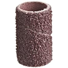 "3M Cloth Band 341D, 1/2"" Diameter x 1"" Width, 60 Grit, Brown (Pack of 100)"