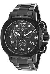 Swiss Legend Men's 10538-BB-11 Scubador Analog Display Swiss Quartz Black Watch