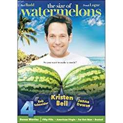 The Size of Watermelons Includes 4 Bonus Movies