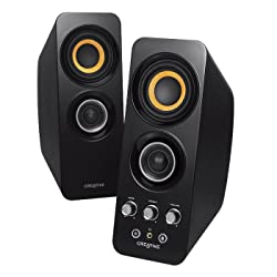 CREATIVE T30 BLUETOOTH WIRELESS 2.0 SPEAKER SYSTEM (BLACK)