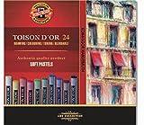 KOH-I-NOOR TOISON D'OR 8514 Weiche Künstler-Pastellkreiden