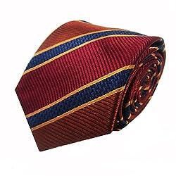 Rossini Men's Tie (UFAM18_Red_Free Size)