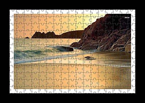 puzzle-style-pre-assembles-imprimer-mur-de-waves-splashing-on-the-sandy-beach-by-lisa-loft