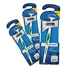 Listerine Ultraclean Access Flosser, Starter Pack (Pack of 3)