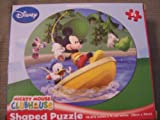 Disney Mickey Mouse Clubhouse 24 Piece Shaped Puzzle - Mickey and Donald Fishing