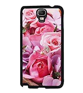 Vizagbeats Pink Roses Back Case Cover For Samsung Galaxy Note3 Neo
