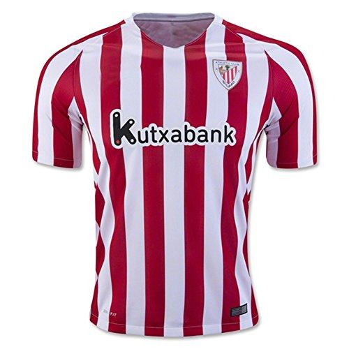 2016-2017-Athletic-Bilbao-FC-Gorka-iraizoz-MARKEL-susaeta-Home-Jersey-de-Football-de-football-en-rouge