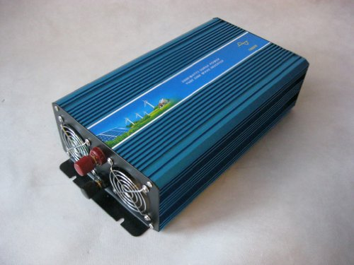 Ten-High 1000W 12V Off Grid Pure Sine Wave Power Inverter Ac110V Solar & Wind Inverter
