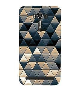 printtech Abstract Design Triangles Back Case Cover for Asus Zenfone 2 Laser ZE550KL / Asus Zenfone 2 Laser ZE550KL (5.5 Inches)