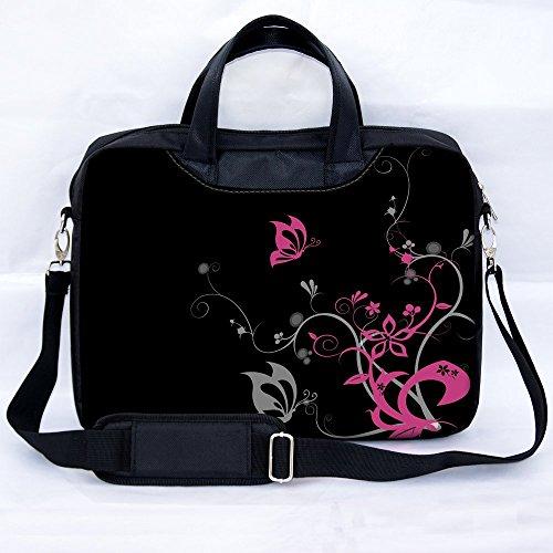 sidorenkor-notebooktasche-laptoptasche-fur-15-156-zoll-381-396-cm-mit-zwei-innentaschen-fur-zubehor-