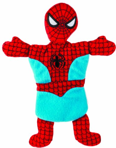 Fetch for Pets Spiderman Flat Crinkle Pet Toy