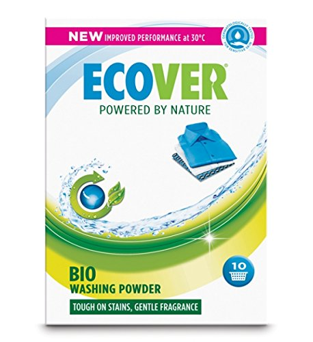 (10 PACK) - Ecover Concentrated Washing Powder Bio | 750g | 10 PACK - SUPER SAVER - SAVE MONEY
