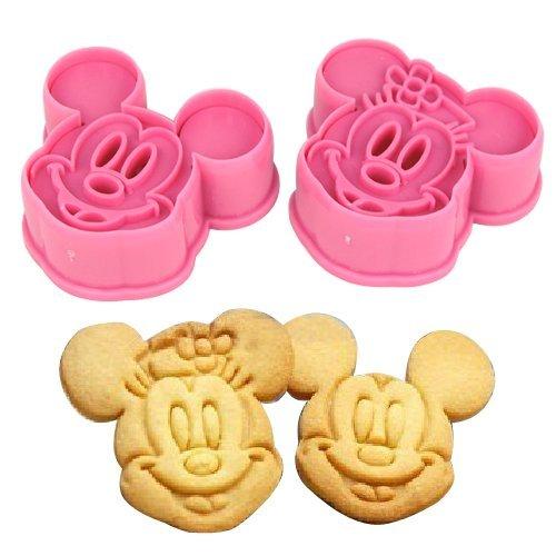 Accessotech - Moule Mickey + Minnie pour Gâteaux Glaçage Pâtisserie