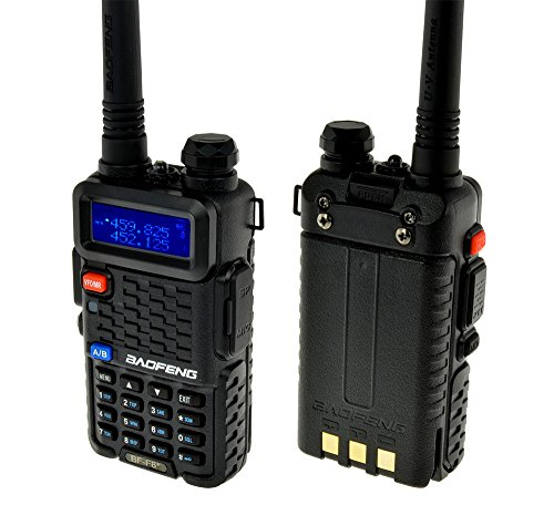 Cheapest Price! BaoFeng BF-F8+ (USA Warranty) Dual-Band 136-174/400-520 MHz FM Ham Two-way Radio, HT...