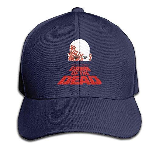 [Unisex Hats Dead Kennedys Navy Flat Brim Visor Strucker Cap] (Jumbo Hip Hop Adult Hat)