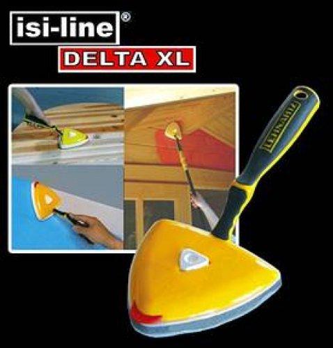 DELTA-XL-FLCHENSTREICHER-Set-Spezial-Farbwanne-mit-Rolle-Streichkissen-Streicher