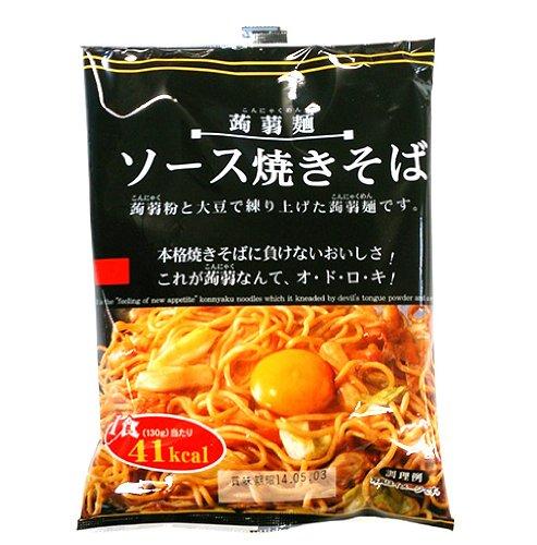 ナカキ 蒟蒻麺ソース焼きそば 130g