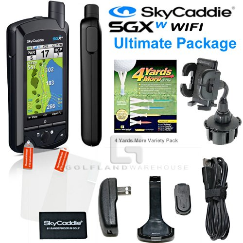 black friday skycaddie sgxw wifi gps range finder bundle cyber monday thanksgiving. Black Bedroom Furniture Sets. Home Design Ideas